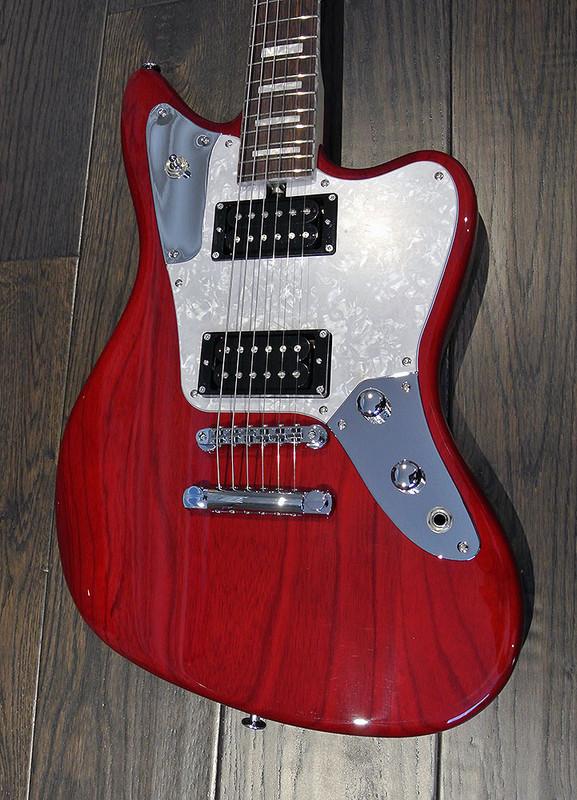 Bacchus Craft Japan - Windy  Ash - Electric Guitar - Transparent Red