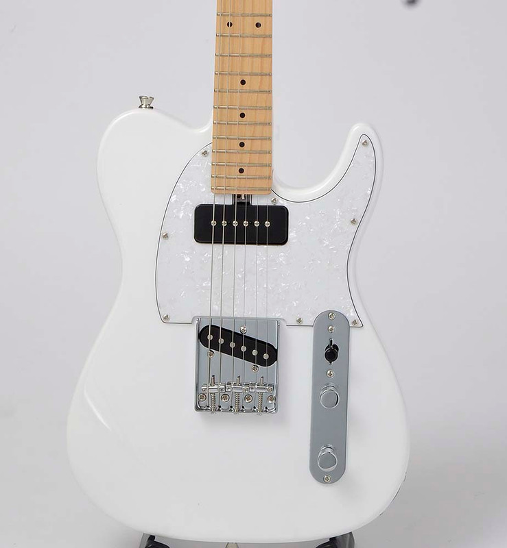 Bacchus Global Series - Tactics PLD Electric Guitar - Snow White - Maple Fingerboard