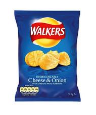 Walkers Crisp Cheese & Onion