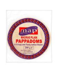 Madras Plain Pappadoms