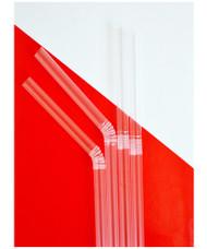 Clear Bendy Straws