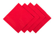 2 Ply Red Cocktail Napkins