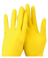Catering Rubber Gloves Large (12 Pairs)