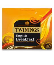 Twinings English Breakfast Envelopes 50's