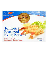 Tempura Battered King Prawns