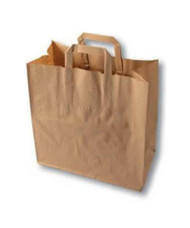 Brown carrier bag XXL