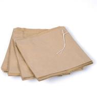 """Brown Kraft Bag with Handle. 12.5"""" x 12""""."""