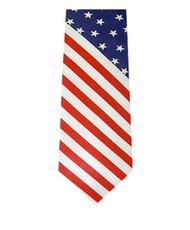 """BG """"Flag"""" Novelty Tie NV13129"""