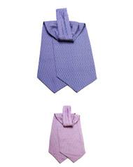BG Cone Pattern Silk Printed Ascot