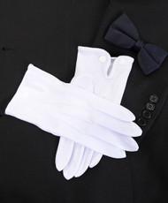 BG White Parade Gloves (Men)