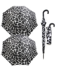 BG Black & White Stone Wind-Resistant Full-Size or Compact Umbrella