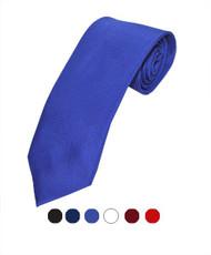 BG Matte Solid Color Poly Tie