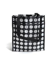 BG White Polka-Dots Tote Bag