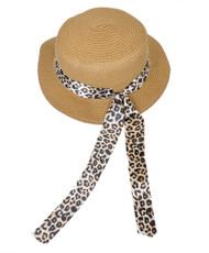 BG Wild Cat Ribbon Paper Hat