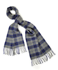 BG Small Town Plaid Unisex Wool Scarf