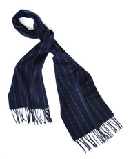 BG Blackberry Striped Unisex Wool Scarf