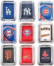 MLB Glass Ashtray