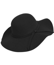 Bowknot Wide Brim Floppy Hat