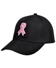 Breast Cancer Awareness Pink Ribbon Baseball Cap