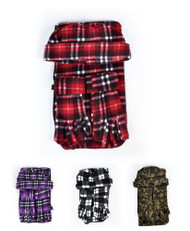 Mixed Style 3 Piece Fleece Hat, Scarf & Glove Women's Winter Set