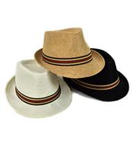 Spring Summer Men's Fedora Hats
