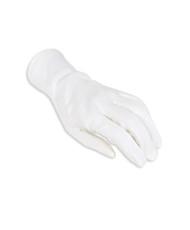 Women's Cottons White Wrist Gloves