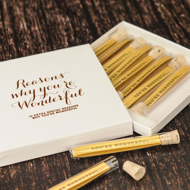 Personalised Reasons Why You're Wonderful
