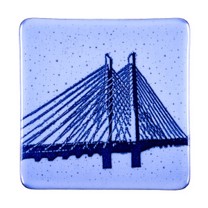 Tilikum Crossing Glass Plate