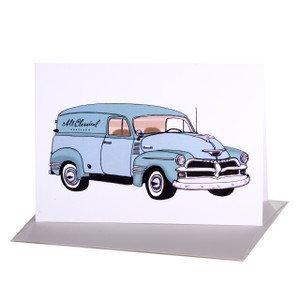 Vintage Truck Greeting Card