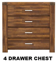Cartier 4 Draw Chest