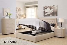 REGENT BED AND BEDHEAD IN QUEEN OR KING