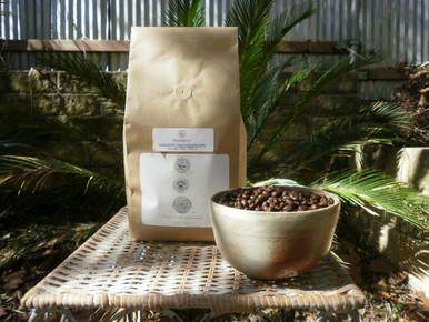 Peaberry Jamaica Blue Mountain Coffee in 2 lb. biotre bag.