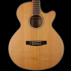 Cort SFXCEDNS Electro Acoustic Guitar with Venetian Cutaway in Natural Satin