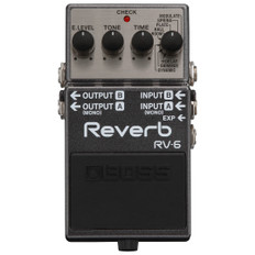 Boss RV-6 Digital Reverb Stereo Guitar Effects Pedal