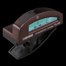 Boss TU-10 Clip On Chromatic Tuner in Brown