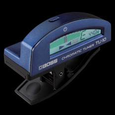 Boss TU-10 Clip On Chromatic Tuner in Blue