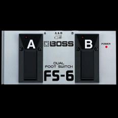 Boss FS-6 Momentary/Latch A/B Footswitch