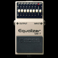 Boss GE-7 Equalizer Guitar Effects Pedal