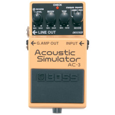 Boss AC-3 Acoustic Simulator Guitar Effects Pedal