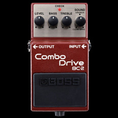 Boss BC-2 Combo Drive Guitars Effects Pedal