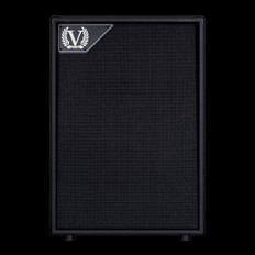 Victory V212VV 2x12 Closed Back Cabinet with 2x Celestion Vintage 30 in Black