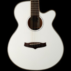 Tanglewood Evolution IV TSFCEWH Super Folk Electro Acoustic in White Gloss