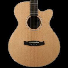 Tanglewood Discovery DBTSFCEBW Super Folk Cutaway Electro Acoustic in Natural with Black Walnut Back & Sides
