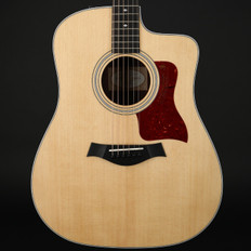 Taylor 210ce DLX Deluxe Dreadnought Cutaway, ES2 with Case