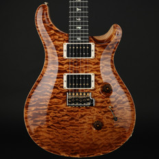 PRS Wood Library Custom 24 Quilt Top in Copperhead with Pattern Thin Neck, 85/15 Pickups #225638