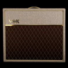 Vox AC15HW1X 112 Handwired Valve Amplifier with Celestion Alnico Blue Speaker, Footswitch - Used