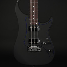 Vigier Excalibur Indus in Textured Black, Maple Neck, Rosewood Fingerboard with Hard Case