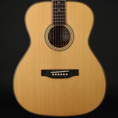 Freshman Songwriter OM All Solid Electro Acoustic in Natural with Hard Case