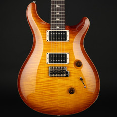 PRS Custom 24 10 Top in Vintage Sunburst with Pattern Regular Neck, 85/15 Pickups #226335