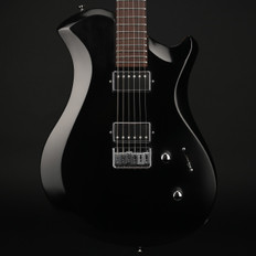 Relish Shady Mary Wooden Frame Electric Guitar in Black